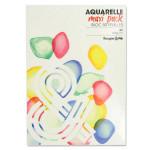 Papier Aquarelle Maxi bloc 200 g/m² 50 F - 29,7 x 42 cm (A3)