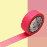 Masking Tape 1P Dégradé fluo rose vers jaune 15 mm x 7 m
