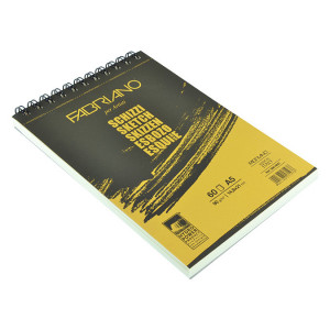 Bloc de papier esquisse 90 g/m/² Schizzi 14,8 x 21 cm 60F