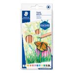 Crayon de couleur pastel Design Journey Étui de 12 pcs