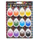 Assortiment de 12 encreurs Memento Dew Drop - Gum Drops
