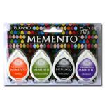 Assortiment de 4 encreurs Memento Dew Drop - Jelly Beans
