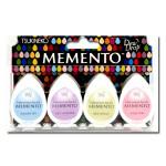 Assortiment de 4 encreurs Memento Dew Drop - Oh Baby!